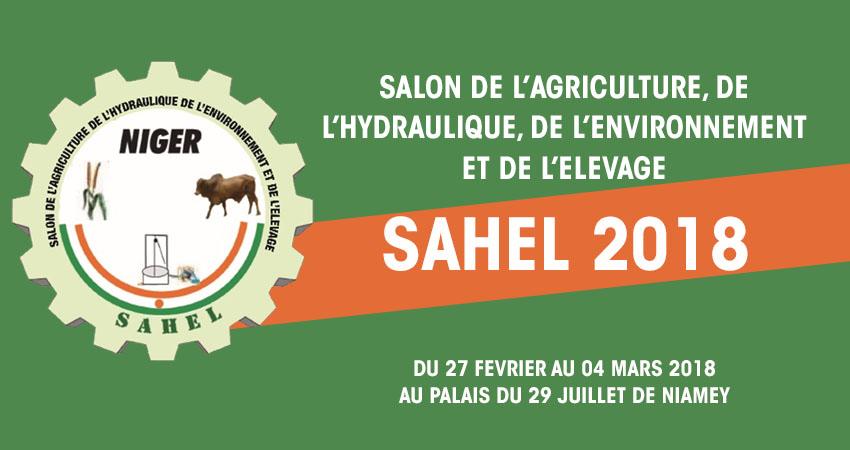 Salons de l'Agriculture, de l'Hydraulique, de l'Environnement et de l'Elevage  SAHEL 2018