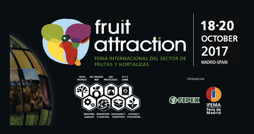 International Trade Show for the Fruit and Vegetable Industry  Madrid – Spain