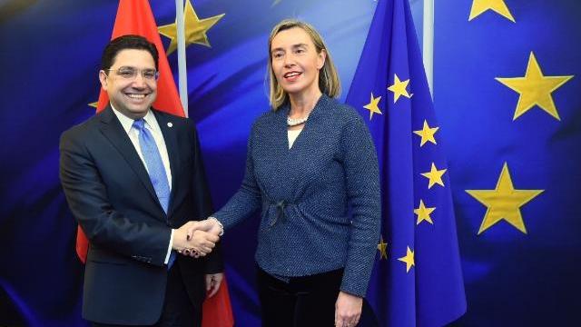 Bruxelles: Nassir Bourita s'entretient avec Federica Mogherini